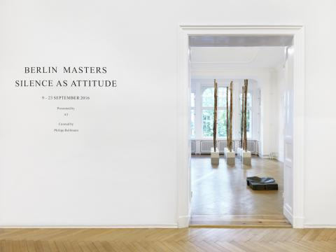 Berlin Masters 2016. Installation view